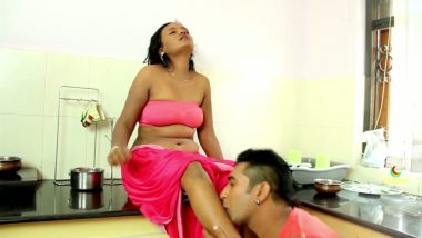 Latest bollywood masala clip romance in kitchen