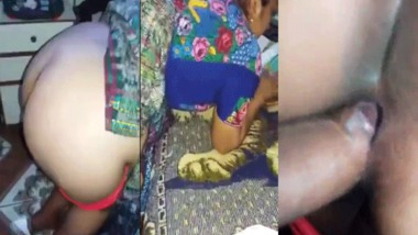 Indian FSI sex video of standing doggy style fucking