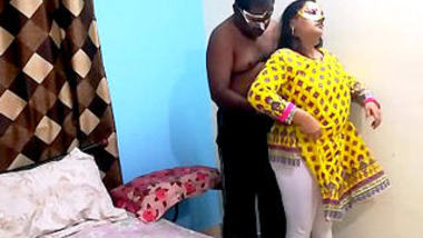 Desi sexy bbw bhabi fucking with husband boss